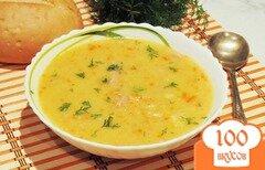 Фото рецепта: «Гороховый суп с красной чечевицей»