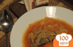 Фото рецепта: «Борщ на свиных косточках»