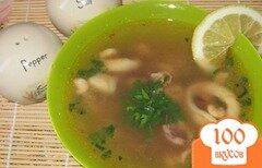 Фото рецепта: «Суп из морского коктейля»