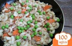 Фото рецепта: «Макароны с мясом и овощами»