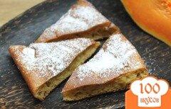 Фото рецепта: «Творожный пирог с тыквой и пряностями»