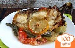 Фото рецепта: «Дори на овощной подушке»