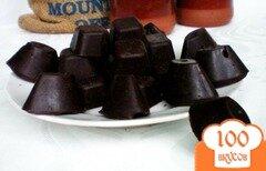 Фото рецепта: «Шоколадные конфеты с грецким орехом»