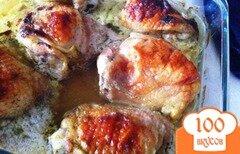 Фото рецепта: «Куриные бедрышки в кефирном маринаде»