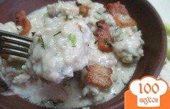 Фото рецепта: «Кнедли с грибами»