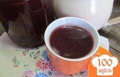 Фото рецепта: «Компот из винограда и апельсинового жмыха»