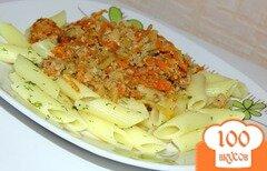 Фото рецепта: «Паста пенне с фаршем и овощами»