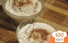 Фото рецепта: «Фруктовый десерт с кремом»