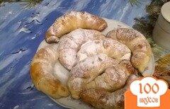 Фото рецепта: «Круасаны с ореховой начинкой»
