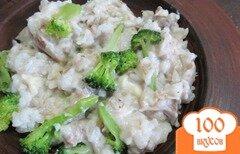 Фото рецепта: «Рис под мясным соусом»