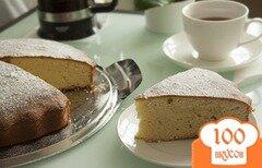 Фото рецепта: «Фунтовый кекс классический»