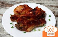Фото рецепта: «Куриные голени маринованные в кетчупе»