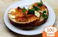 Фото рецепта: «Приготовления слабо соленного лосося»