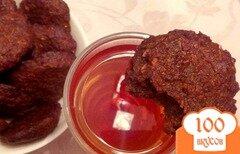 Фото рецепта: «Морковно-ржаное печенье»
