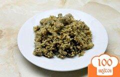 Фото рецепта: «Рис с овощами и свининой в соевом соусе»