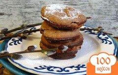Фото рецепта: «Шоколадные сырники в духовке»