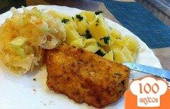Фото рецепта: «Отбивные из куриного филе в панировке»