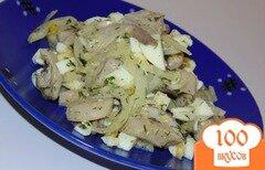 Фото рецепта: «Яично-грибной салат»