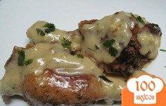 Фото рецепта: «Шкмерули - курица под молочно-чесночным соусом»