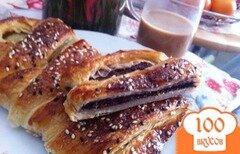 Фото рецепта: «Слоеный пирог с шоколадом»