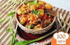 Фото рецепта: «Овощное рагу с черемшой»
