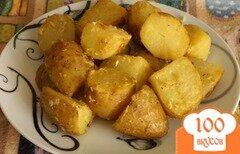 """Фото рецепта: «Картофель печеный """"Оригинальный""""»"""