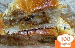 Фото рецепта: «Пирог с начинкой из варенья мандарин и апельсин»