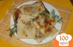 Фото рецепта: «Ленивые пирожки из лаваша постные»