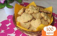 Фото рецепта: «Песочное печенье с грецкими орехами»