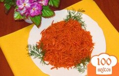 Фото рецепта: «Морковь по-корейски острая»
