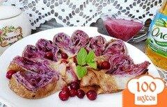 Фото рецепта: «Сладкий ягодный соус к блинчикам»
