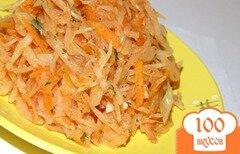 Фото рецепта: «Тушеная капуста с корнем сельдерея и сладким перцем»