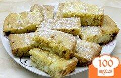 Фото рецепта: «Яблочный пирог с корицей и сахарной пудрой»