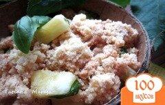 Фото рецепта: «Ананасовый десерт с базиликом»