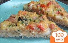 Фото рецепта: «Горячие бутерброды со сливочным сыром и помидором»