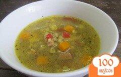 Фото рецепта: «Суп с тыквой и сельдереем»