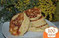 Фото рецепта: «Постные апельсиновые оладьи»