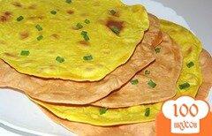 Фото рецепта: «Цветные тонкие лаваши»