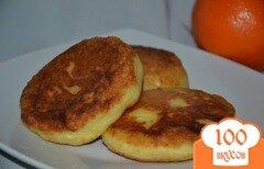 Фото рецепта: «Сырники апельсиновые»