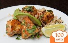Фото рецепта: «Курица с лаймом»