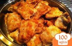 Фото рецепта: «Жареный хек в панировке»