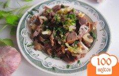 Фото рецепта: «Пикантная закуска из куриных желудков»
