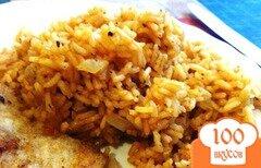 Фото рецепта: «Жаренный рис на гарнир с томатами»