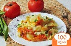 Фото рецепта: «Жареный картофель с морковью»