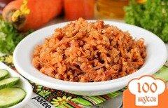 Фото рецепта: «Гречка со свёклой и морковью в мультиварке»