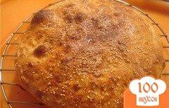 Фото рецепта: «Лепешки с медом и кунжутом в сиропе»