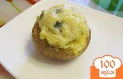 Фото рецепта: «Картофель запеченный в кожуре»