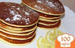 Фото рецепта: «Лимонные панкейки»