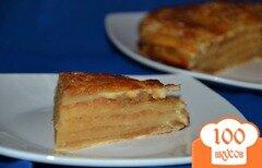 Фото рецепта: «Яблочный пирог «Для сладкоежек»»