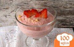 Фото рецепта: «Творожно-клубничный десерт»